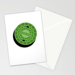 Splinter's house Stationery Cards