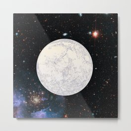 Moon machinations Metal Print