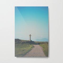 It's about the journey Celtic Cross photograph Metal Print