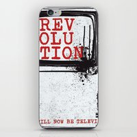 revolution iPhone & iPod Skins featuring revolution by J Maurice