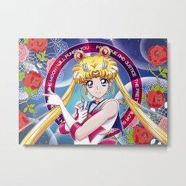 Sailor Moon - Sailor Moon Crystal III (EDT) Metal Print