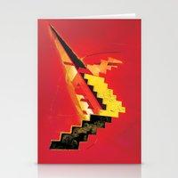 revolution Stationery Cards featuring Revolution by Andrej Balaz