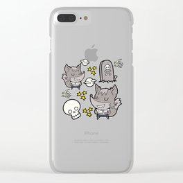 Little WereWolf Clear iPhone Case