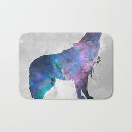 Galaxy Series (Wolf) Bath Mat