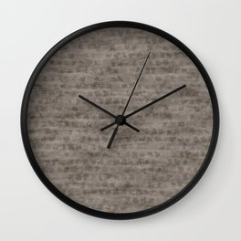 Little rocks surface Wall Clock