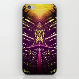 kaleidoscope palm iPhone Skin