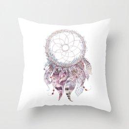 Bohemian Dreamcatcher Throw Pillow