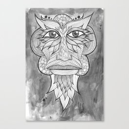Tribal Zone Canvas Print