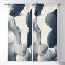 Cyan Mandevilla Blackout Curtain