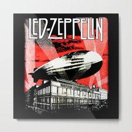 Red Zeppelin Metal Print