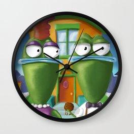 American Bighead Wall Clock