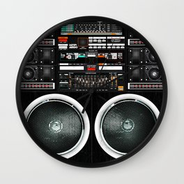 Boombox Ghetto J1 Wall Clock