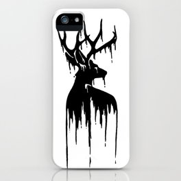 Painted Stag V.2 iPhone Case