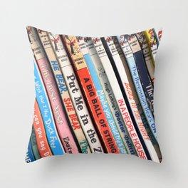 Beginner Books Throw Pillow