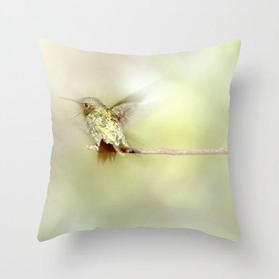 Settle Throw Pillow