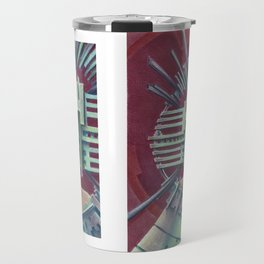 """""""Portrait with silver chullo"""" Notebook Travel Mug"""