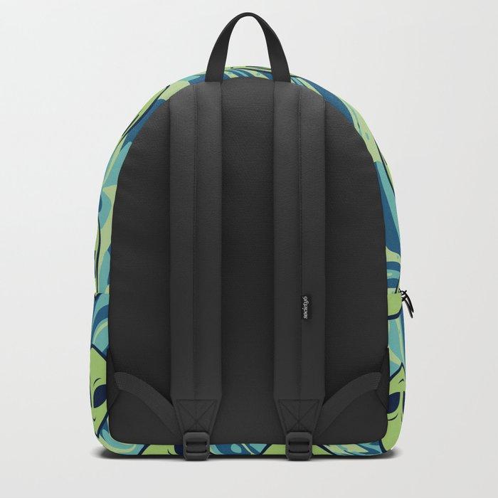 Melting Alien Backpack