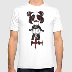 Panda Lover SMALL Mens Fitted Tee White
