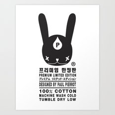 RABBIT PREMIUM LIMITED EDITION Art Print