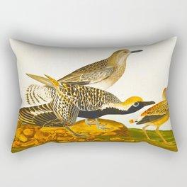Black-bellied Plover Bird Rectangular Pillow