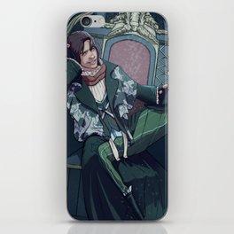 The King Sits Here iPhone Skin