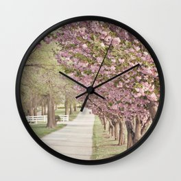 A Dreamy Journey Wall Clock
