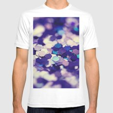Grape Mix - an abstract photograph MEDIUM Mens Fitted Tee White