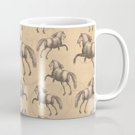 Galloping Spanish Horses Coffee Mug