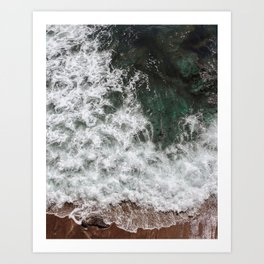 Pacific Overlook Art Print