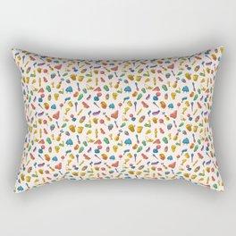 D*ck Print Rectangular Pillow