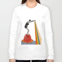 jelly fish Long Sleeve T-shirts featuring Jelly by Happy Red Fish Art