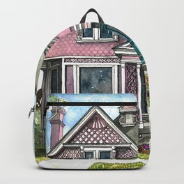 The Violet Lady in Spring Backpack