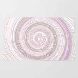 Re-Created Spin Painting No. 17 by Robert S. Lee Rug