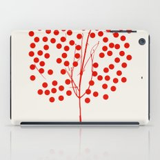 Tree of Life Red iPad Case