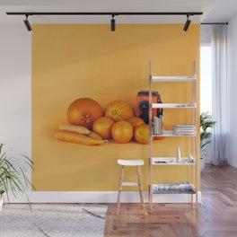 Orange carrots - still life Wall Mural