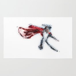 One Punch Thor Rug