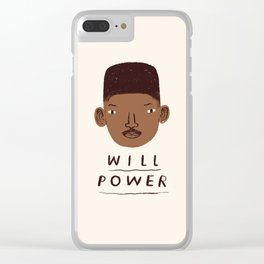 Will Power Clear iPhone Case