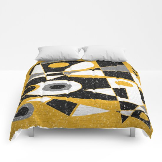 Abstract #385 Wall Art Comforters