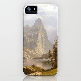 Albert Bierstadt Merced River, Yosemite Valley iPhone Case