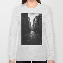 New York City (Black and White) Long Sleeve T-shirt