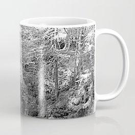 Picturesque Stone Bridge over Rocks Forest Creek, Alps Coffee Mug