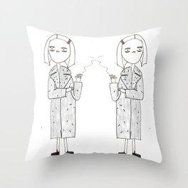 the royal tenenbaums - margot Throw Pillow