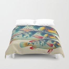 Fish Classic Designs 3 Duvet Cover