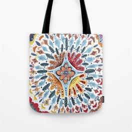 Spanish Tiles Tote Bag