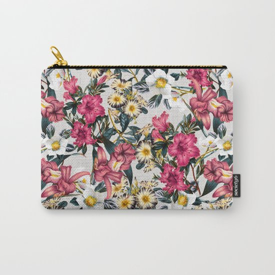 CLASSIC FLORAL PATTERN II Carry-All Pouch