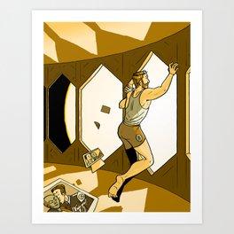 Morning on the Daedalus: Yuri Art Print