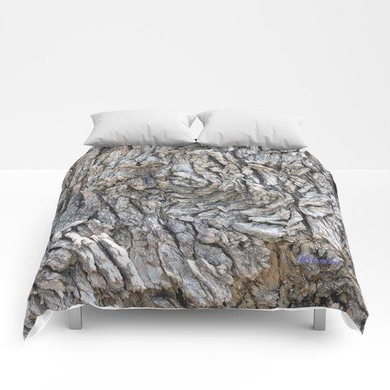 TEXTURES -- Blue Elderberry Bark Comforters