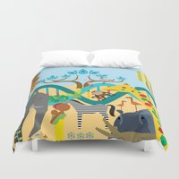 evolution Duvet Covers featuring Evolution by Design4u Studio