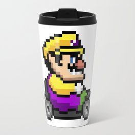 Wario pixel art Travel Mug