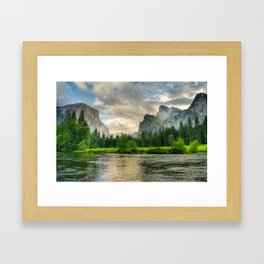 Merced River, Yosemite Valley Framed Art Print